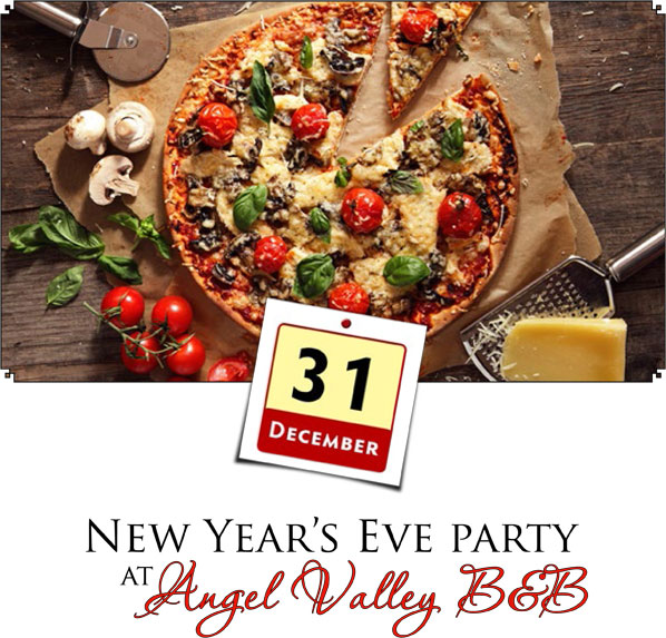 New Year's Eve Pizza Party