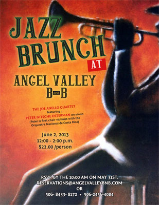 Jazz Buffet - Sunday, June 2, 2013